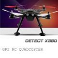 Original xk detectar x380 zangão headless modo dron 2.4 ghz gps rc quadcopter rtf drones profissionais padrão versão rc helicóptero