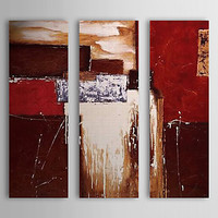 3 Panels Hand painted Modern Abstract Canvas Painting Artwork Oil Paintings on Canvas Wall Art Cuadros Pictures for Living Room