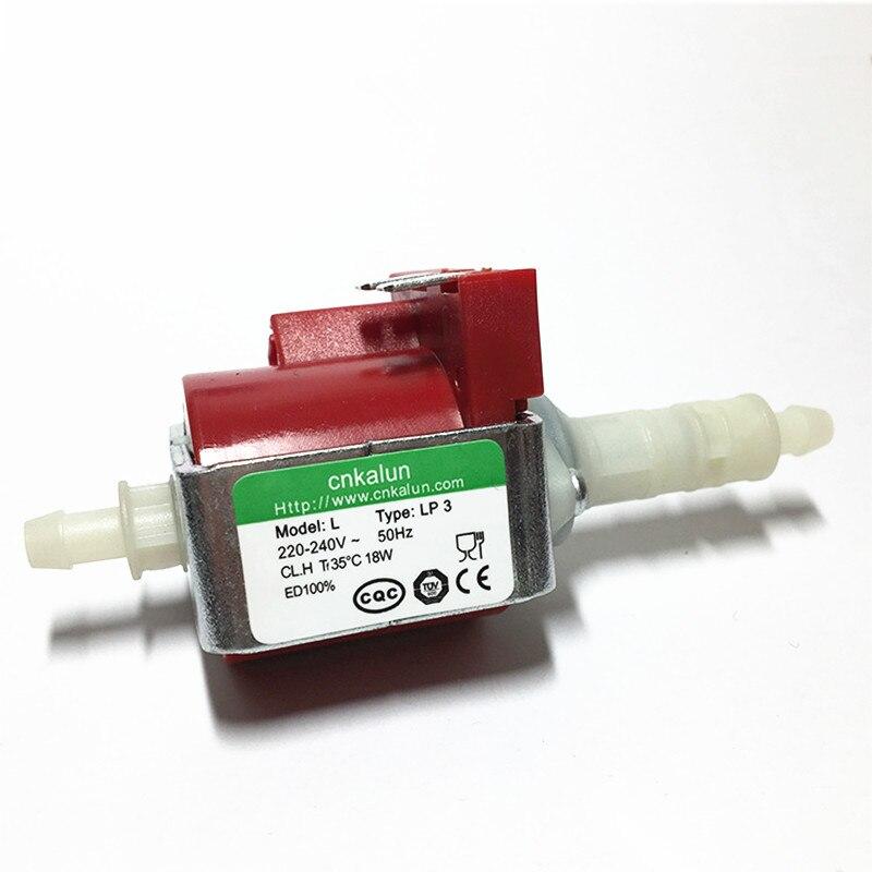 Machine à café Micro électromagnétique pompe tension 220-240 (v) puissance 18 W (kw) débit 100-900 ml (m3/h) ascenseur 3 (m)