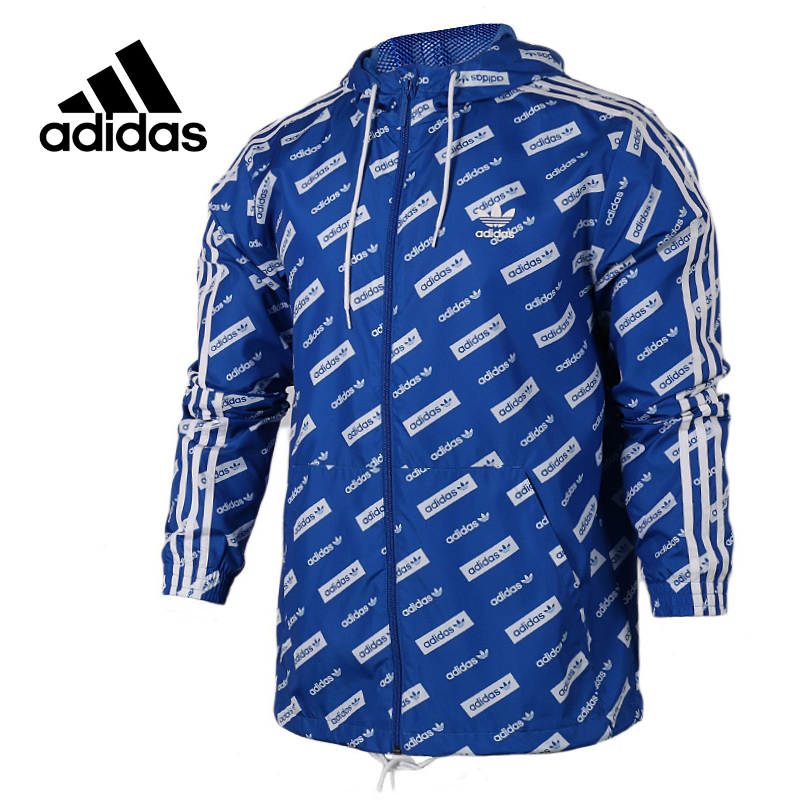 Original New Arrival Official Adidas Originals Trf Series Aop Men's jacket Hooded Sportswear original new arrival official adidas originals trf series aop men s jacket hooded sportswear