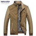 Порт & Лотос Оборудованная Мужские Куртки Сращены Мода Марка Одежды Одежда Chaquetas Jaqueta Masculina Casaco Hombre Masculino173