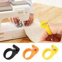 3 шт./компл. палец Иглы ремесла домашнего Пластик наперсток шитье кольцо нитеобрезатель DIY аксессуары для швейной машины