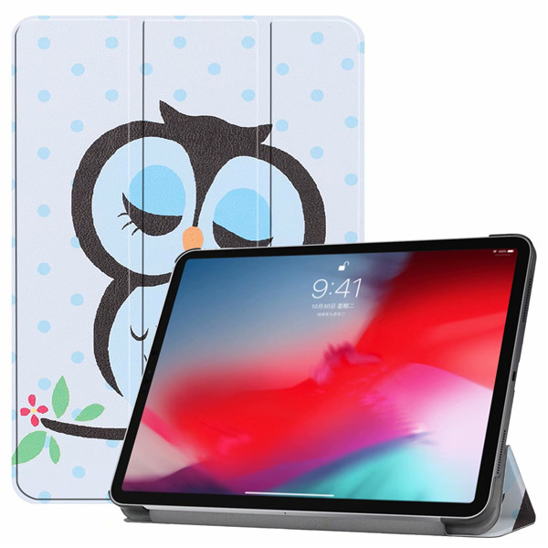 Owl iPad Pro3 11 2018 smart case with different patterns