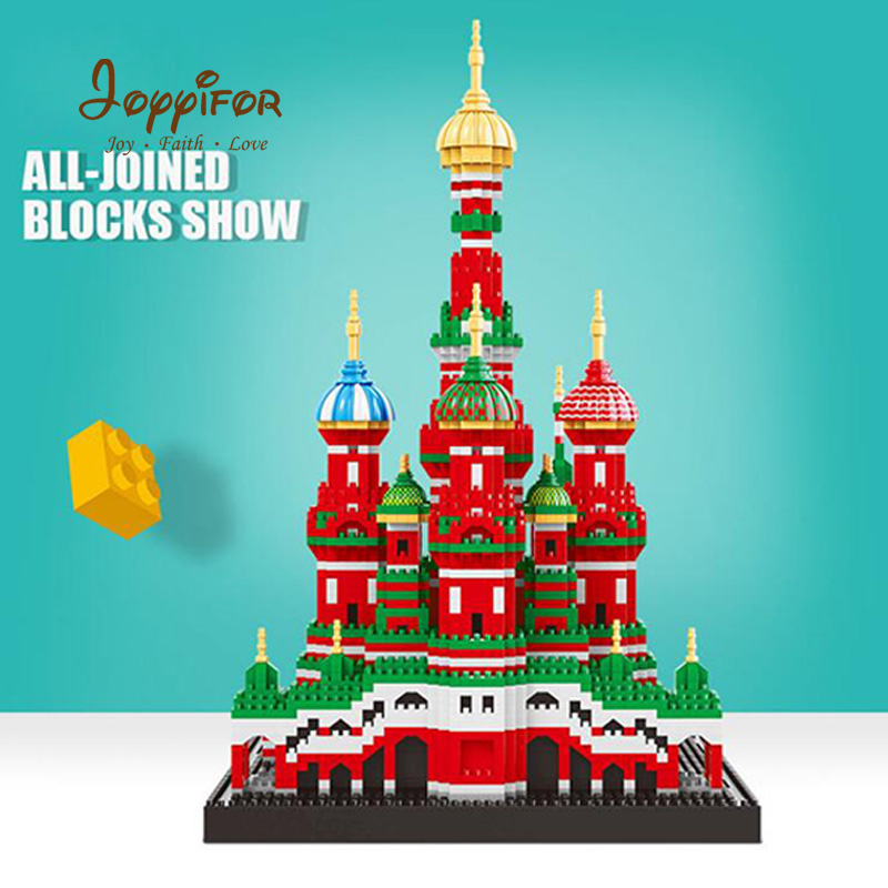 Mini Blocks Architecture Model Nano Building Toy Saint Basil s Cathedral Educational Toy for Kids Friend