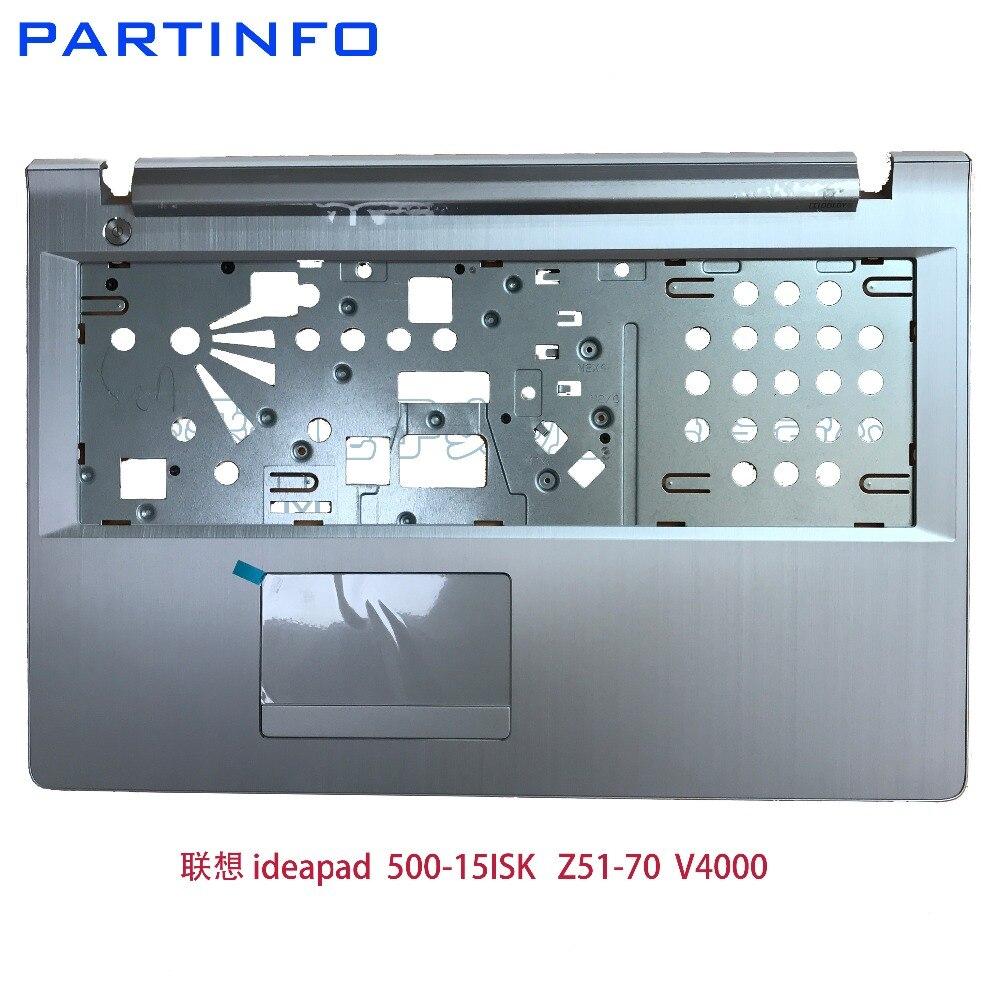 Tout nouveau ordinateur portable original palmrest supérieur pour LENOVO Z51-70 Z51 V4000 500-15 Y50C C coque ordinateur portable couverture inférieure argent/blanc