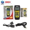 Последним Memoscan U581 OBD2 OBDII Автомобилей Неисправности Диагностический Сканер CAN BUS Scan Code Reader Диагностический Для. Чтение Live данных