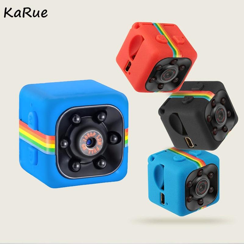Karue SQ11 SQ8 Digital Video Recorder HD 1080 P Mini Macchina Fotografica Mini DV Camcorder Visione Notturna di IR 140 Gradi Ampio Len DVR