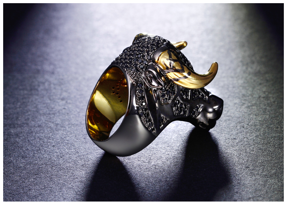 cow head ring 06