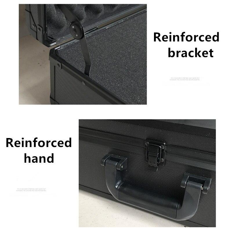 impacto equipamento de segurança câmera pré-corte espuma forro saco de bagagem