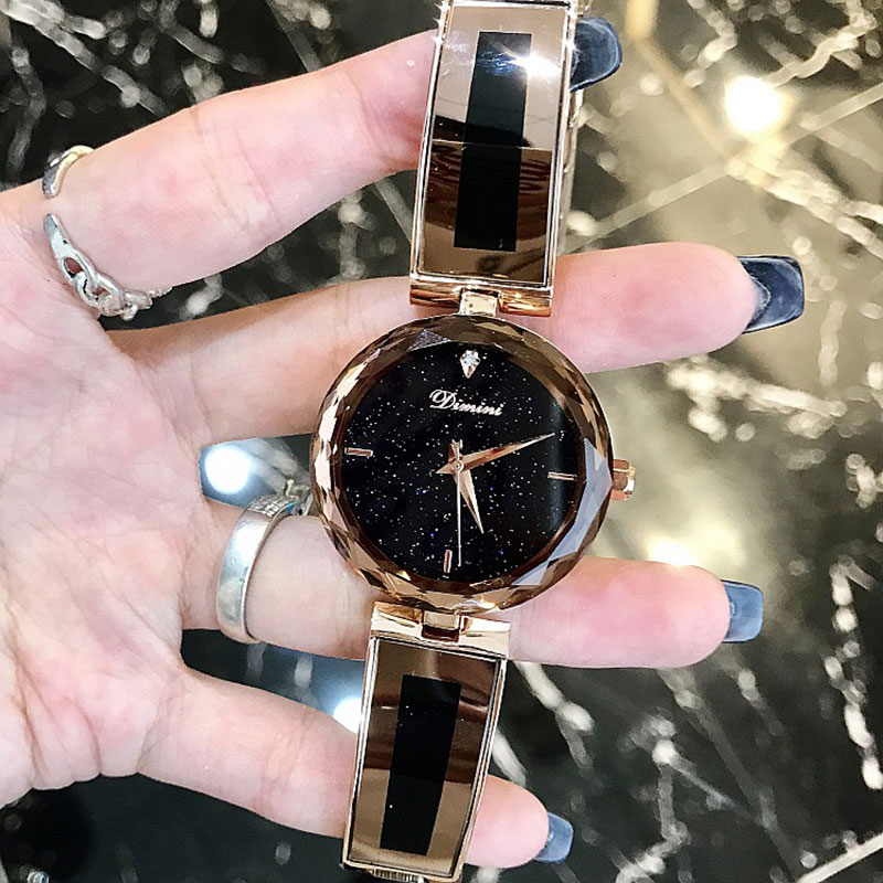 купить Top Brand Luxury Women Bracelet Watches Fashion Women Dress Wristwatch Ladies Quartz Sport Rose Gold Watch Dropshiping по цене 2563.51 рублей