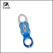 Mini Aluminum Fishing Lip Girp Tools Portable Grabber Crap Fishing Equipment Fishing With Spring Rope Tackles