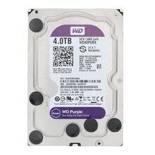 Western Digital WD наблюдения фиолетовый 4 TB внутренний HDD SATA 6,0 ГБ/сек. 3,5 «жесткий диск для CCTV камера AHD DVR IP камера WD40EJRX