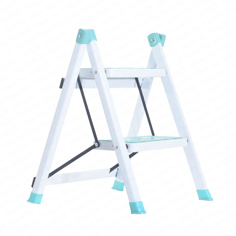 B Home Kitchen Folding Ladder Two Step Ladder Herringbone Ladder Stepping Up Pet Ladder
