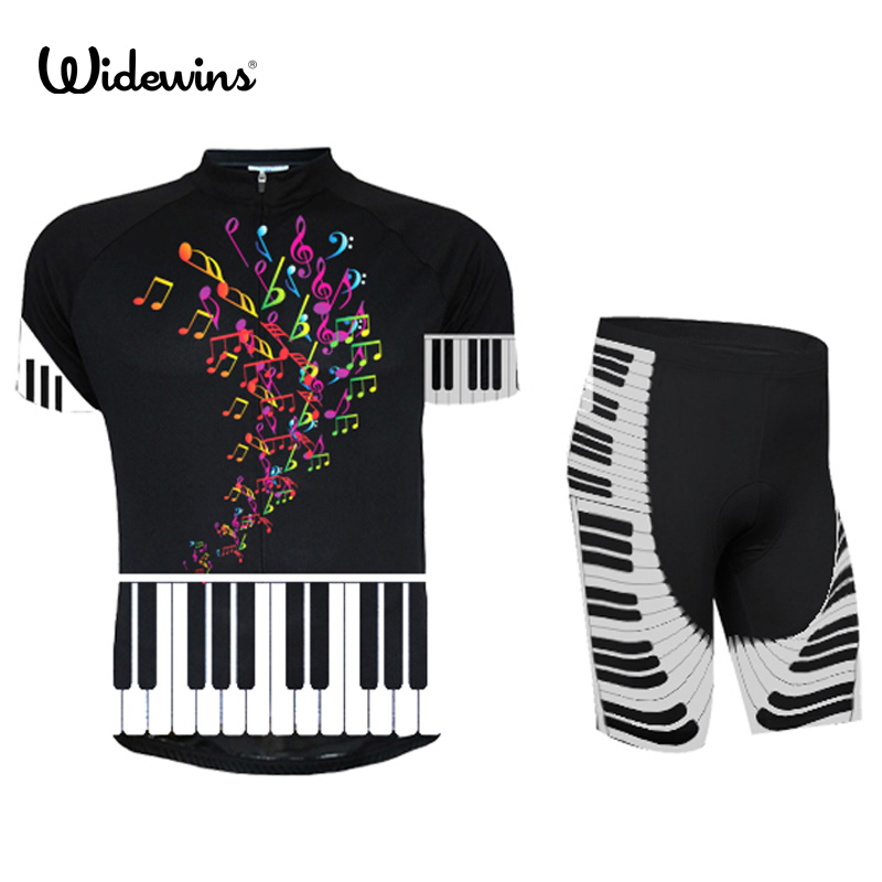 Music Sleeve Cycling Jersey Mtb Piano Cycling Clothing Bicycle Maillot Ropa Ciclismo Sportwear Bike Clothes 7203  breathable cycling jersey summer mtb ciclismo clothing bicycle short maillot sportwear spring bike bisiklet clothes ciclismo