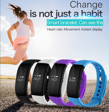 V66 Спорт Смарт часы Smart Band Bluetooth 4.0 умный Браслет Браслеты часы для Android IOS Телефон PK ID107