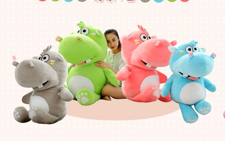 huge 120cm cartoon fat hippo plush toy soft doll hugging pillow birthday gift w2528 the huge lovely hippo toy plush doll cartoon hippo doll gift toy about 160cm purple