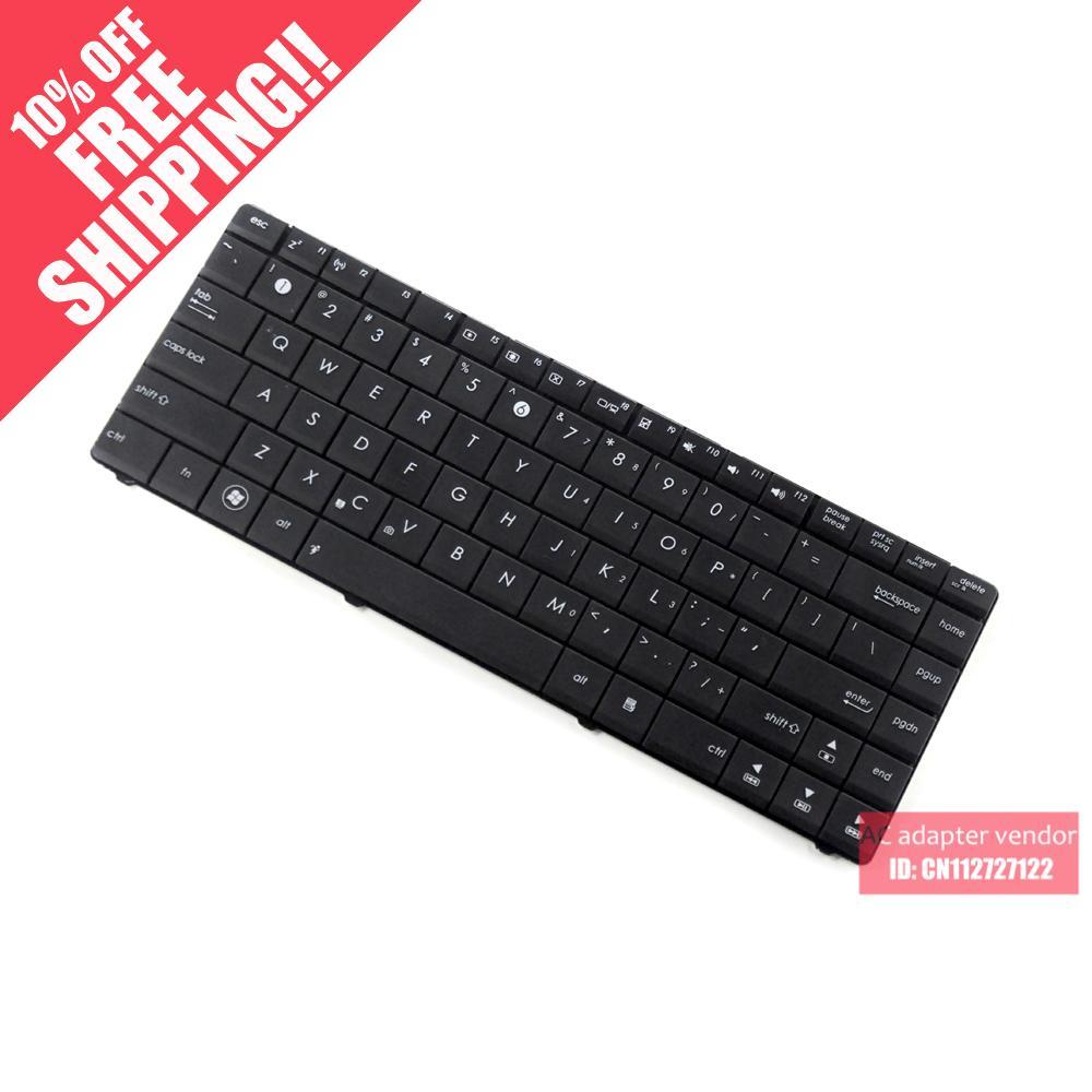 The new English FOR Asus X43U X43B X43 X43J A43S k43t keyboard