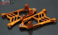 CNC METAL Front lower arm bracket For 1/5 HPI rovan km GTB Baja 5B 5T 5SC rc car parts