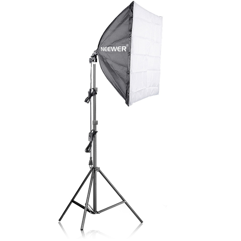 Neewer 400W Photography Softbox Light Lighting Kit for Photo Studio Portraits, Product and Video ShootingNeewer 400W Photography Softbox Light Lighting Kit for Photo Studio Portraits, Product and Video Shooting