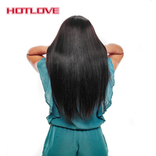 HOTLOVE Hair Brazilian Straight Hair Bundles Human Hair Weave 100g/Piece Natural Color 10-28 Inch Remy Hair Free Shipping