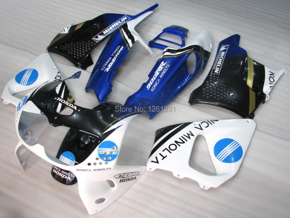 Комплект обтекателей для HONDA CBR900RR 893 96 97 CBR 900RR 96 97 1996 1997 CBR893 96 97 синий белый черная обшивка для мотоцикла