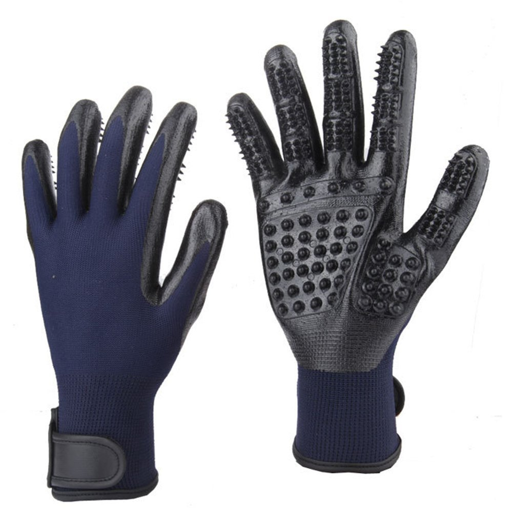 Pet Grooming Gloves For Cats & Dogs 13 » Pets Impress