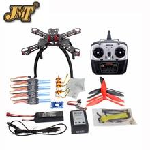 JMT QQ SUPER Multi-Controle De Vôo rotor Zangão DIY DIY 310mm Fibra De Vidro Multicopter Kit Radiolink 8CH TX & RX 1400KV 30A ESC Do Motor