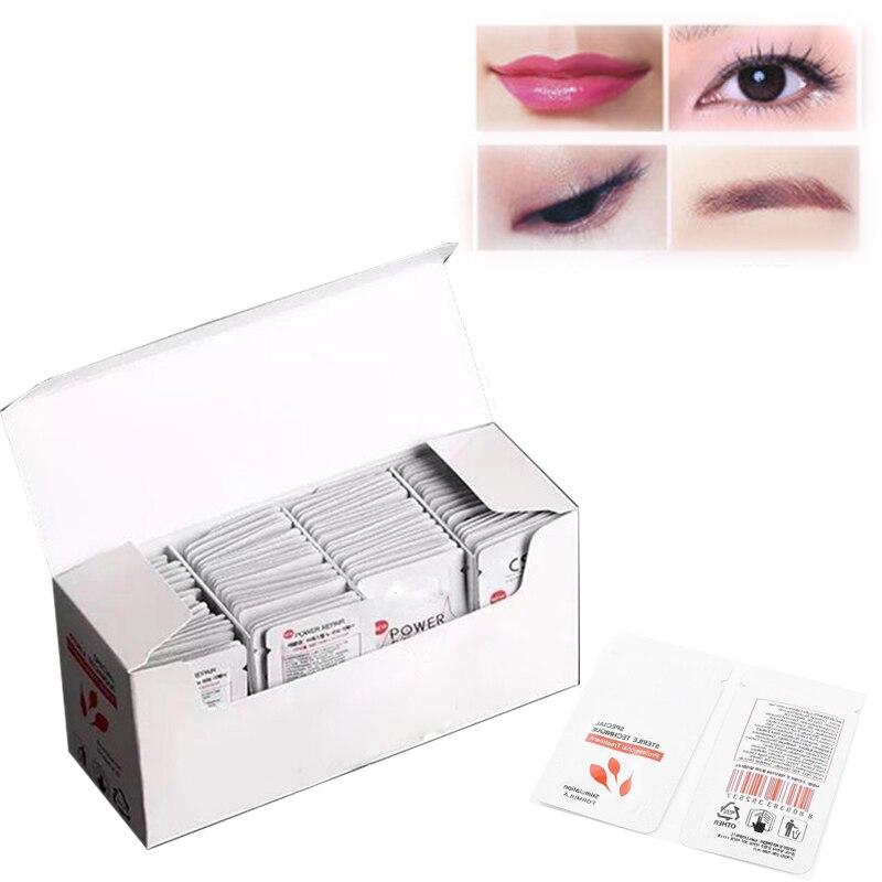 100pcs/box Renewable Cream Repair Aftercare Cream Semi Permanent Make Up Tattoo Nursing Anti Scar For Eyebrows Lips Tebori make up factory magnetic lips semi mat