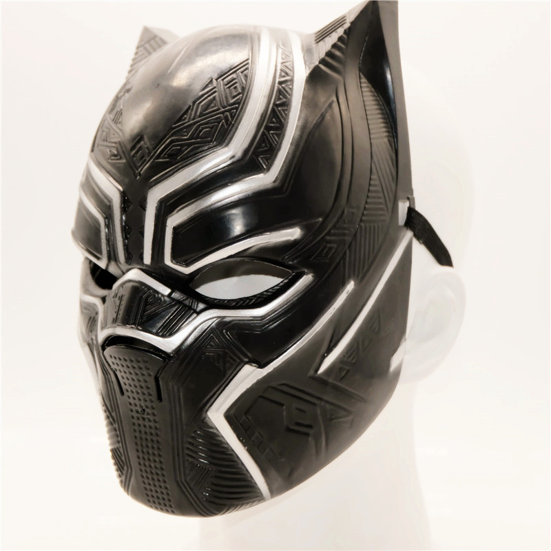 Ainiel Black Panther Mask Halloween Party Carnival Super Hero Cosplay Masks For Women Men Boys Girls Adult and Kids Avengers