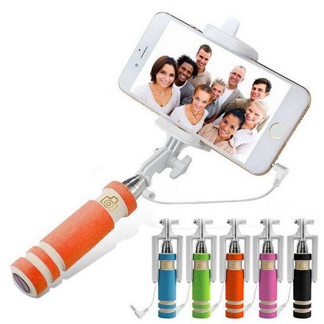 Selfie stick huayihui universal al por mayor mini plegable portátil ...