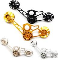 Сверхлегкий велосипед задний переключатель Натяжитель для Brompton велосипед одной скорости/2 скорости/3 скорости