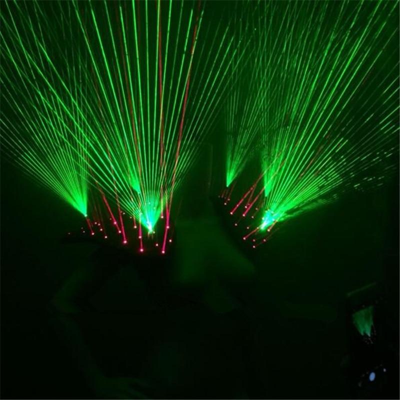 Neues Design Rot Grün Laser Weste Laserman Weste Anzüge Mann - Partyartikel und Dekoration - Foto 4