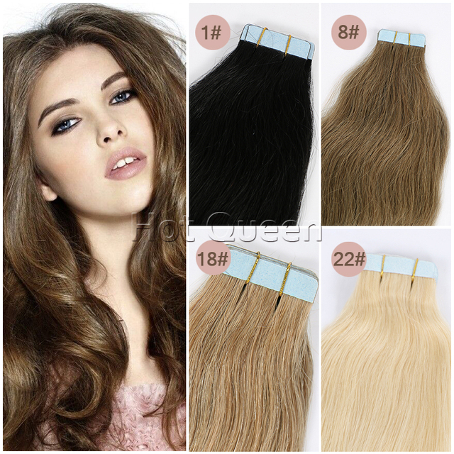 40pcs100g Skin Weft Hair Extension Cuticle Brazilian Remy Hair