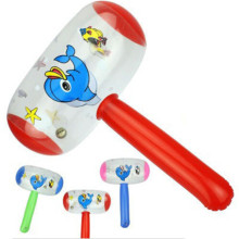 1 шт. воздушный молоток с колокольчиком для детей, Детский надувной молоток для шумов, игрушки разных цветов, новинка,, милый мультяшный надувной молоток