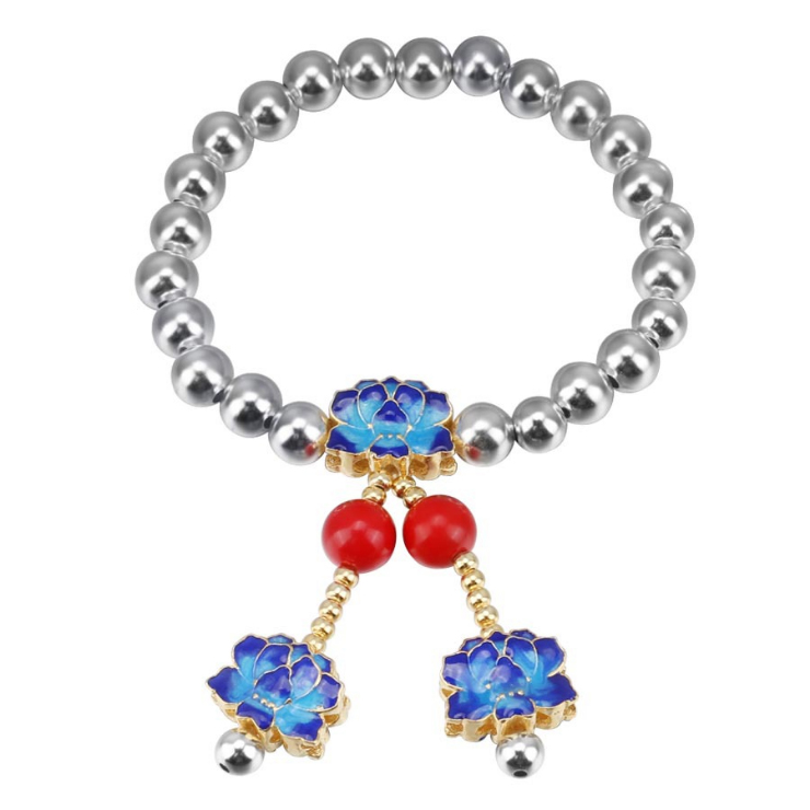 ZTUNG GCHP3 red blue Europe and America Classic Bracelet fashion jewelry Bangles silver bracelet for girl gift with packingZTUNG GCHP3 red blue Europe and America Classic Bracelet fashion jewelry Bangles silver bracelet for girl gift with packing