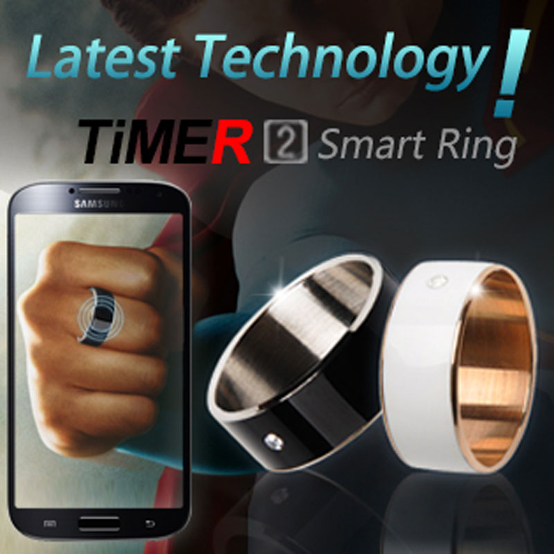 Smart Ring Wearable Jakcom Timer2(MJ02)NFC Magic APP lock,Magic business  card link share files share For NFC Mobile phone