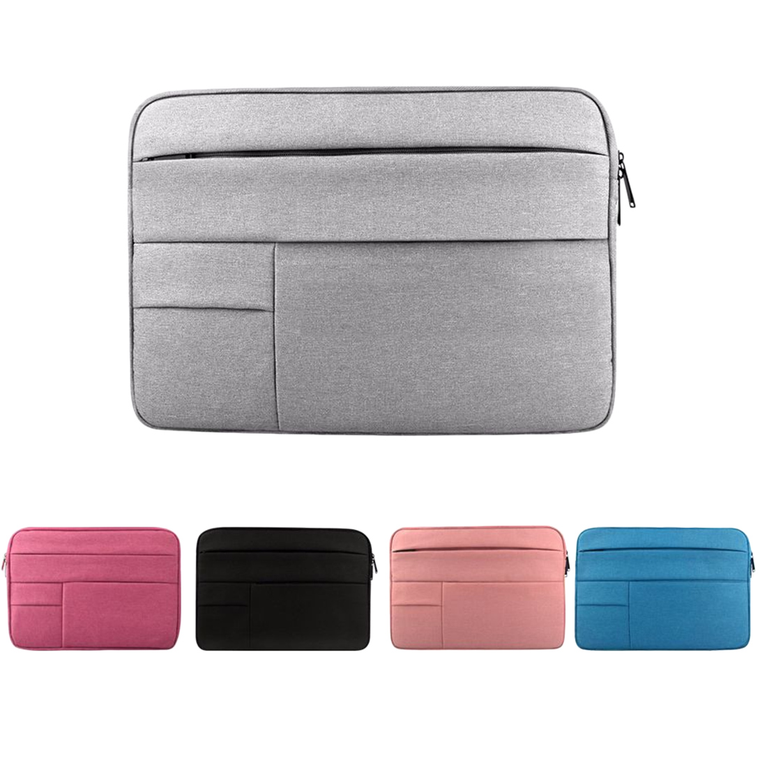 Image 2 - Laptop Sleeve bag for Dell Asus Lenovo HP Acer Computer 11 12 13 14 15 inch for Macbook Air Pro Notebook 15.6 Sleeve Case Simple-in Laptop Bags & Cases from Computer & Office