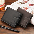 top fashion men wallets famous brand genuine leather coin wallet solid short card holder designer purses coin pouch cartera