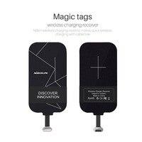 Tipo-c Nillkin Universal Qi Cargador Inalámbrico Receptor Tag para LG 5x G5 Nexus Huawei Xiaomi mi5 mi4c p9 mi4s HTC 10
