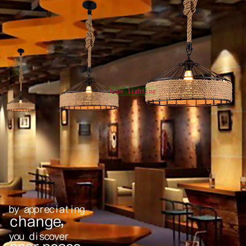 Vintage Bar Lamp Led Pendant Lights For Coffee Shop
