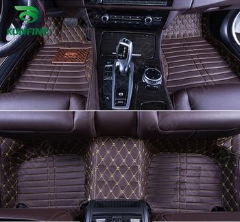 Top Quality 3D car floor mat for Skoda Superb foot mat car foot pad 4 colors Left hand driver carpet car styling liner