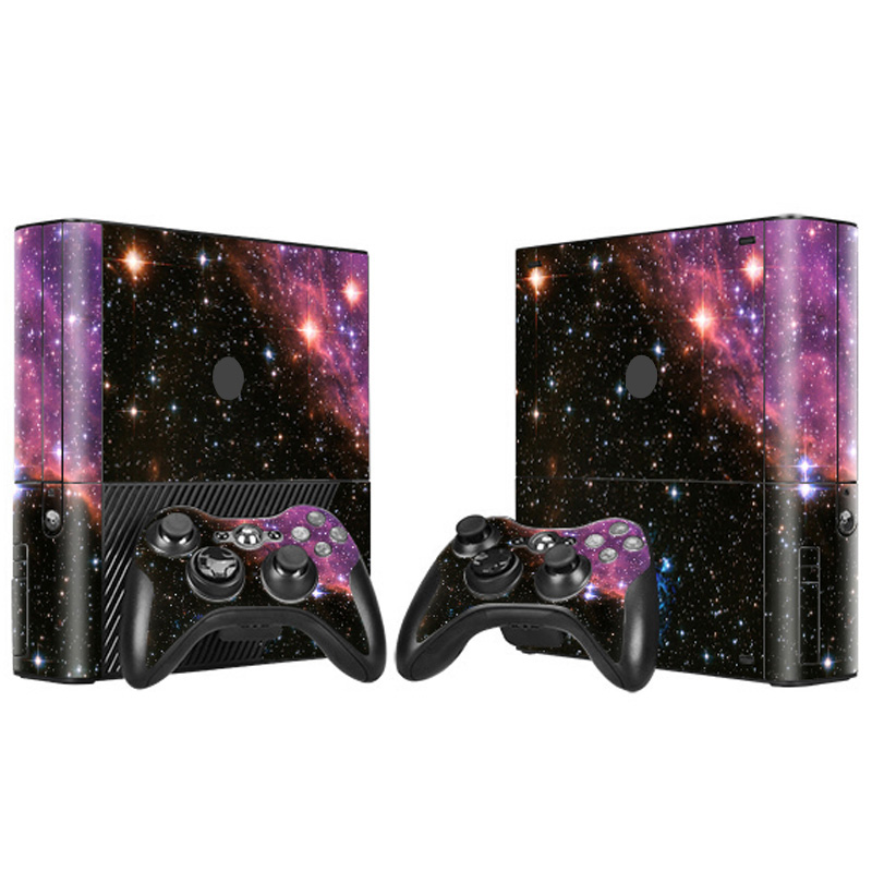 Free drop shipping Trade Assurance Suppolier full body custom gaming skin For XBOX360E skin #TN-XB360E-2036