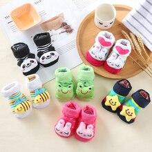 20pcs/lot Baby Socks for Newborn Baby Sock Shoes Cotton Anti Slip Floor Socks with Rubber Soles  Baby Boy Girl Infant Bebe Sock