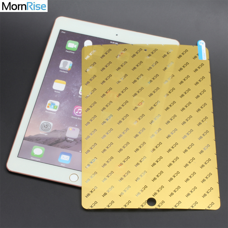 2PC Full Cover Hydrogel PET Film For IPad Pro 12.9 2018 / Pro 11 / Air 2 1 9.7 Soft Screen Protector Nano Explosion Proof Saver