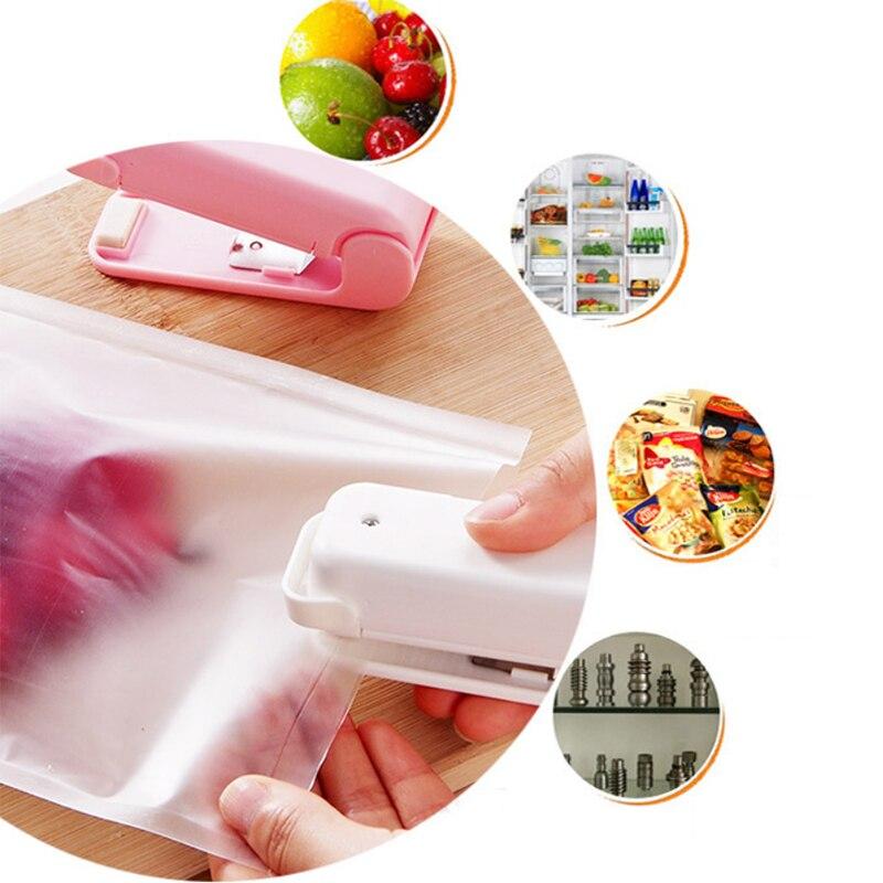 Taşınabilir Mini isı yapıştırma makinesi laminasyon makinesi premium el basınç Mini Gadgets pil ile çanta klipsleri el