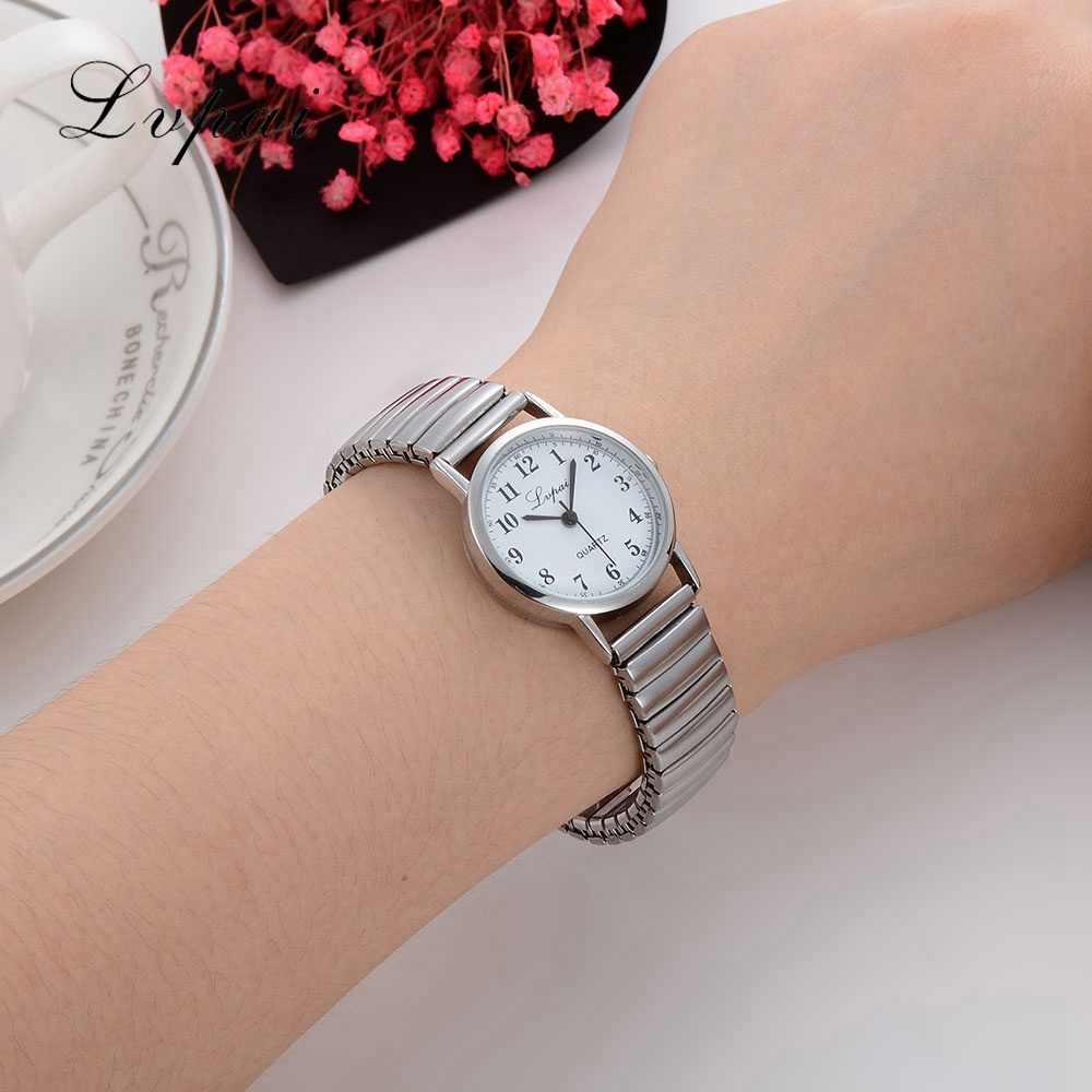 Lvpai nouvelle arrivée marque argent amoureux montre de mode de luxe montre pour femmes dames Sport tenue décontractée Quartz montre horloge