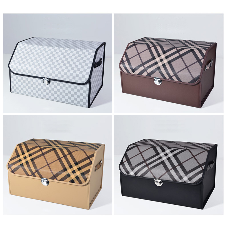 Car Trunk Organizer Box Storage Bag Auto Trash Tool Bag MicrofiberFolding S/M/L Cargo Storage Stowing Tidying Car AccessoriesCar Trunk Organizer Box Storage Bag Auto Trash Tool Bag MicrofiberFolding S/M/L Cargo Storage Stowing Tidying Car Accessories