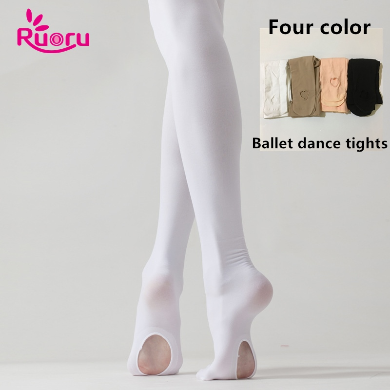 ruoru-profissional-criancas-criancas-collants-meninas-do-font-b-ballet-b-font-branco-danca-font-b-ballet-b-font-leggings-meia-calca-com-furo-nudez-rosa-preto-stocking
