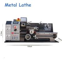 600W Metal Lathe All Steel Lathe Machine High Power Motor Machine Tool with Switch Control WM210V G