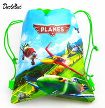 1 pic frog children schoolbags Turtles Children drawstring backpack & bag for young girls & 4 colors Optional